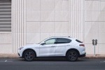 2018 Alfa Romeo Stelvio Ti Lusso AWD in Trofeo White Tri-Coat - Static Side View