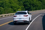 2018 Alfa Romeo Stelvio Ti Lusso AWD in Trofeo White Tri-Coat - Driving Rear Right View