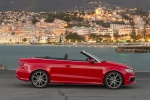 2015 Audi A3 Convertible in Brilliant Red - Static Right Side View