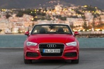 2015 Audi A3 Convertible in Brilliant Red - Static Frontal View