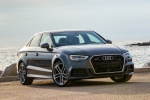 2017 Audi A3 2.0T S-Line quattro Sedan in Monsoon Gray Metallic - Static Front Right Three-quarter View