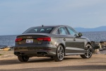 2018 Audi A3 2.0T S-Line quattro Sedan in Monsoon Gray Metallic - Static Rear Right Three-quarter View