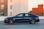 2018 Audi S3 Sedan in Navarra Blue Metallic - Static Side View