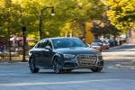 2018 Audi S3 Sedan in Daytona Gray Pearl - Driving Front Right View