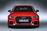 2018 Audi RS3 Sedan in Catalunya Red Metallic - Static Frontal View