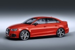 2018 Audi RS3 Sedan in Catalunya Red Metallic - Static Front Left Three-quarter View