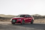 2018 Audi RS3 Sedan in Catalunya Red Metallic - Static Front Left View