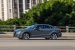 2018 Audi A3 2.0T S-Line quattro Sedan in Monsoon Gray Metallic - Driving Side View