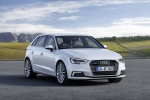 2018 Audi A3 Sportback e-tron in Glacier White Metallic - Static Front Right View