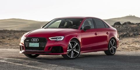 2018 Audi A3 Sedan, Convertible, Sportback e-tron, S3, RS3 quattro AWD Review