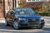2018 Audi A6 2.0T quattro Sedan in Moonlight Blue Metallic from a front right view