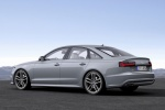 2018 Audi A6 3.0T S-Line Sedan in Nardo Gray - Static Front Left Three-quarter View