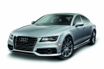 2012 Audi A7 Sportback 3.0T Premium in Ice Silver Metallic - Static Front Left Three-quarter View