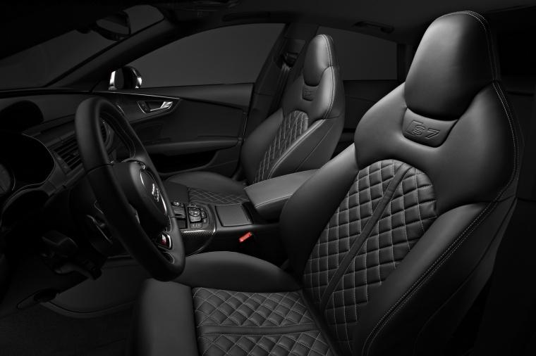2015 Audi S7 Sportback 4.0T Prestige Front Seats Picture