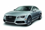 2015 Audi A7 Sportback 3.0T Premium in Ice Silver Metallic - Static Front Left Three-quarter View
