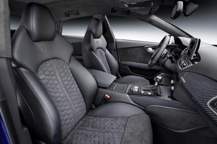 2017 Audi RS7 Sportback Front Seats Picture
