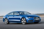 2017 Audi S7 Sportback in Sepang Blue Pearl Effect - Status Front Right Three-quarter View