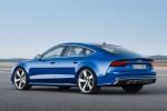 2017 Audi S7 Sportback in Sepang Blue Pearl Effect - Status Rear Left Three-quarter View