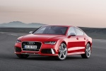 2017 Audi RS7 Sportback in Misano Red Pearl Effect - Status Front Left View