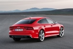 2017 Audi RS7 Sportback in Misano Red Pearl Effect - Status Rear Right View