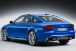 2017 Audi RS7 Sportback in Sepang Blue Pearl Effect - Status Rear Left Three-quarter View