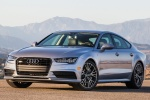 2017 Audi A7 Sportback in Florett Silver - Status Front Left View