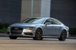 2017 Audi A7 Sportback in Florett Silver - Driving Front Left Three-quarter View