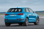 2016 Audi Q3 in Hainan Blue Metallic - Static Rear Right Three-quarter View
