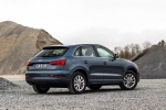 2016 Audi Q3 in Utopia Blue Metallic - Static Rear Right Three-quarter View