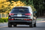 2016 Audi Q3 2.0T quattro in Brilliant Black - Driving Rear Right View