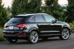 2017 Audi Q3 2.0T quattro in Brilliant Black - Static Rear Right Three-quarter View