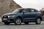 2017 Audi Q3 in Utopia Blue Metallic - Static Front Left Three-quarter View