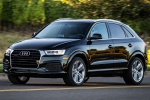 2017 Audi Q3 2.0T quattro in Brilliant Black - Driving Front Left Three-quarter View
