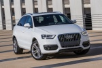 2018 Audi Q3 2.0T quattro in Brilliant Black - Static Frontal View
