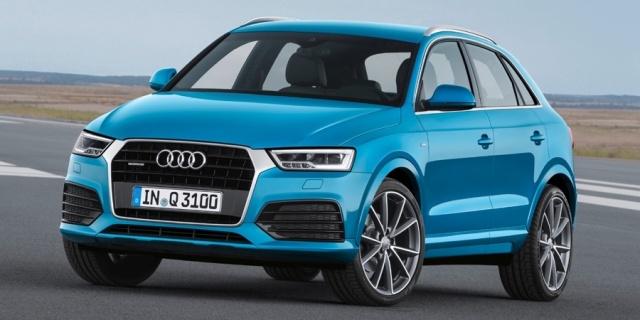 2018 Audi Q3 Pictures