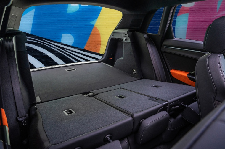 2020 Audi Q3 45 quattro Rear Seats Folded
