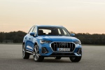 2020 Audi Q3 45 quattro in Turbo Blue - Static Front Right View