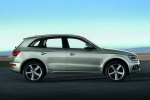 2013 Audi Q5 2.0 TFSI Quattro in Cuvee Silver Metallic - Static Right Side View