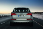 2016 Audi Q5 2.0 TFSI Quattro in Cuvee Silver Metallic - Driving Rear View