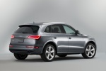 2016 Audi Q5 3.0T Quattro S-Line in Monsoon Gray Metallic - Static Rear Right Three-quarter View