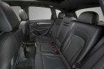 2016 Audi Q5 3.0T Quattro S-Line Rear Seats in Black