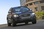 2016 Audi SQ5 Quattro in Scuba Blue Metallic - Driving Front Right View