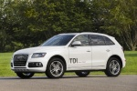 2016 Audi Q5 TDI Quattro in Ibis White - Static Front Left Three-quarter View