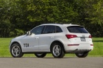 2016 Audi Q5 TDI Quattro in Ibis White - Static Rear Left Three-quarter View