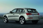 2016 Audi Q5 2.0 TFSI Quattro in Cuvee Silver Metallic - Static Rear Left Three-quarter View