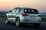 2016 Audi Q5 2.0 TFSI Quattro in Cuvee Silver Metallic - Static Rear Left View