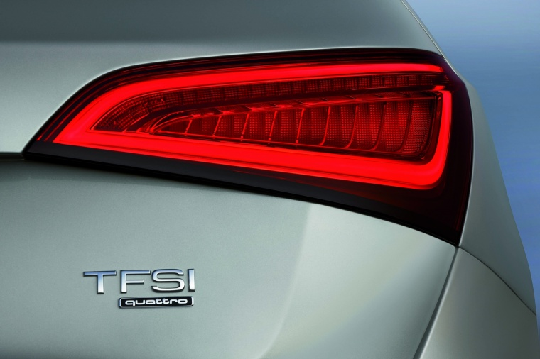 2017 Audi Q5 2.0 TFSI Quattro Tail Light Picture