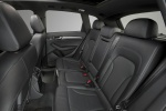 Picture of 2017 Audi Q5 3.0T Quattro S-Line Rear Seats in Black