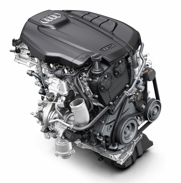 2018 Audi Q5 quattro 2L Turbo Engine Picture