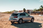 2018 Audi Q5 quattro in Florett Silver Metallic - Static Rear Right Three-quarter View